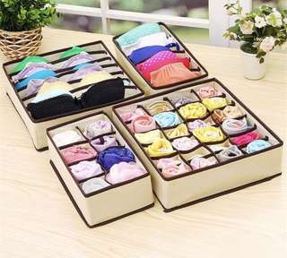 4pcs Storage Box