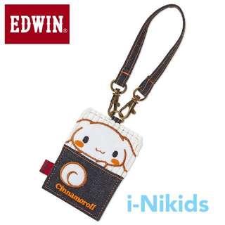 🇯🇵日本直送 - 原裝日版 Sanrio - Cinnamoroll x Edwin ID Card Holder 玉桂狗咭套 / 八達通套