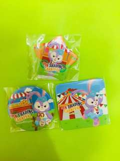 2018 3粒/ set pins stellaLou 1set3個 trading carnival 🎡 fun day  襟章徽章交換同樂日嘉年華stellaLou Duffy