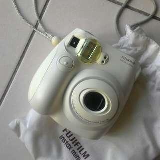 Fujifilm instead mini 7s limited edition full white colour