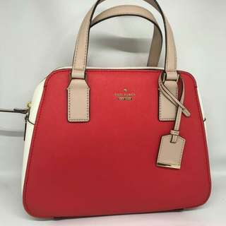 Kate Spade Cameron Street Little Babe size 27x21 in Prickly Pear Red