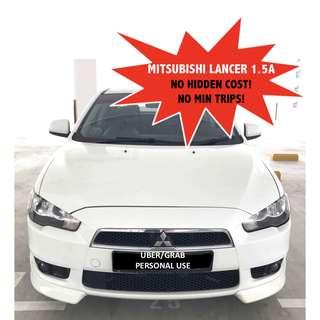 Mitsubishi Lancer EX 1.5 Auto