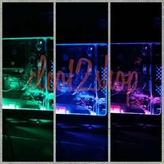 Lampu LED Strip RGB 5050 1meter + Mini Kontroller + Molex (MOD PC/ Komputer)