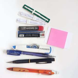 Stationery Set including pilot mechanical pencils