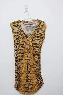 Tshirt leopard Zara