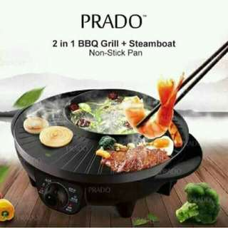 BBQ Grill + Steamboat