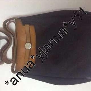 (二手品) 最後劈價 $1500 Hermes Crossbody Herbag 男女可用 皮蓋 最平最抵