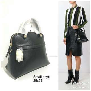 Furla Piper Dome Small Onyx Black