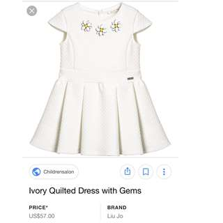 Liujo girl white dress