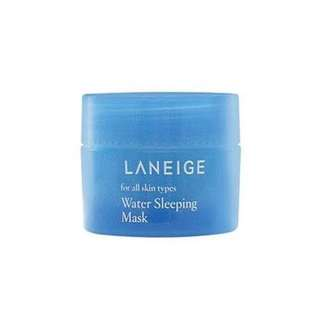 Laneige sleeping mask blue