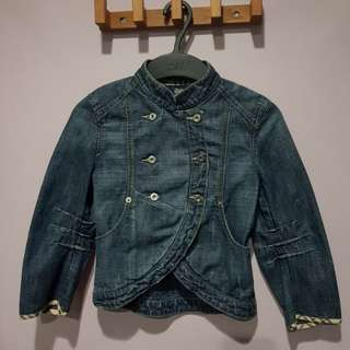 BURBERRY Denim Kids Jacket (NEW)