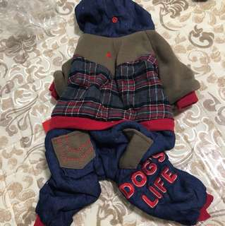 Brand new clothing for puppies