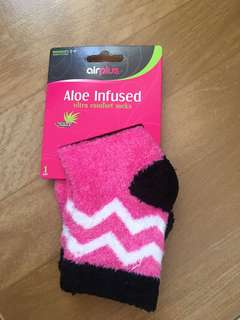Authentic Airplus Aloe Infused Socks