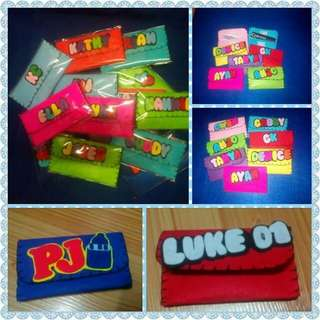 Mini wallet souvenir or give aways for any occasion