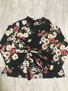 Brand new floral Long sleeve shirt