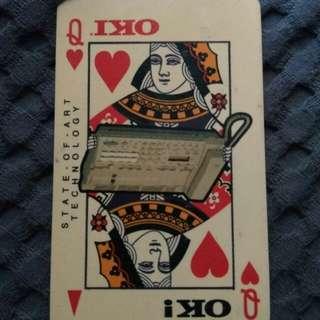 Rare phonecard - Queen