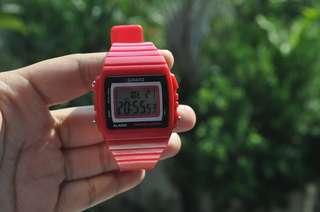 AUTHENTIC Casio Pink Digital Watch