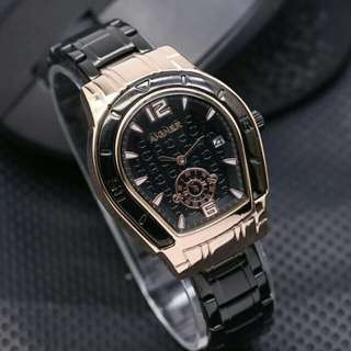 (New) Aigner Dirty Black Gold