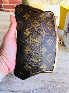 Authentic Vintage Louis Vuitton Wallet Accessories Pouch
