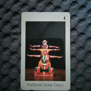 Rare phonecard - Traditional Indian Dance