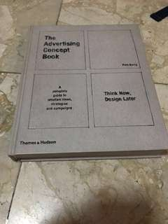 "Buku Import Hard Cover ""The Advertising Concept Book"" (English)"