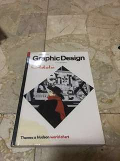 """Buku Import """"Graphic Design, A Concise History"""" (English)"""
