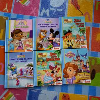 (BNEW) Disney Junior Books