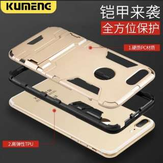 i phone7/8plus 抗震手機殼+送強化玻璃貼