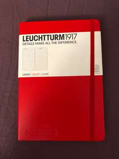 BRAND NEW Leuchtturm1917 notebook