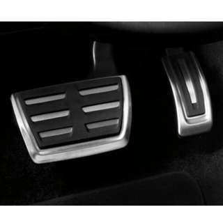 Audi A3 8V / Volkswagen Golf Stainless Steel Pedal Caps Set