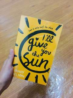 ☀️Jandy Nelson - I'll Give You The Sun