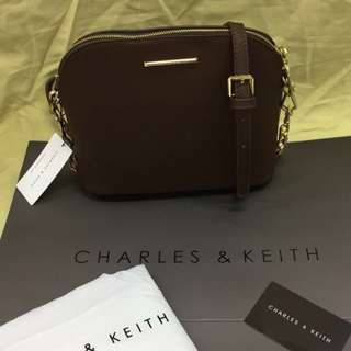 Brandnew! Authentic Charles & Keith Sling Bag