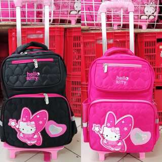NEW HELLO KITTY TROLLEY BAG