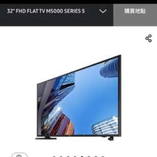 Samsung 32吋 Series 5 M5000 100% New
