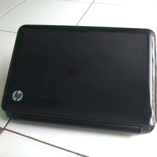 Notebook hp mini 210M hitam mulus Original pabrik spek tinggi