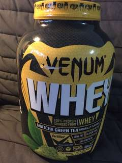 Venum Whey matcha green tea