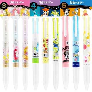 Uni Japan Disney Alice / Ariel / Belle / Winnie the pooh / Donald / Minnie / Toy Story / Alien uni style fit -3/4/5 ink barrel pen