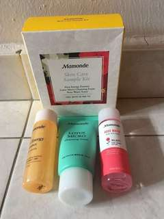 BNIB Mamonde Skin Care Sample kit(3pcs)