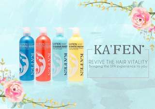 Kafen Impression Series Shampoo and Recovery Treatment