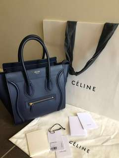 AUTHENTIC CELINE MICRO LUGGAGE
