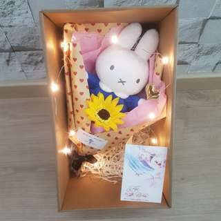 Miffy soap sunflower bouquet