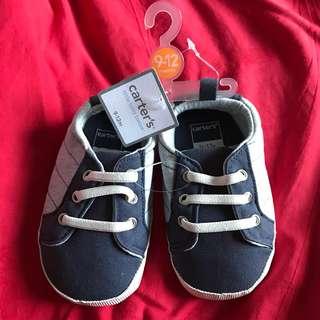 Carter's Canvas Sneaker Crib Shoes