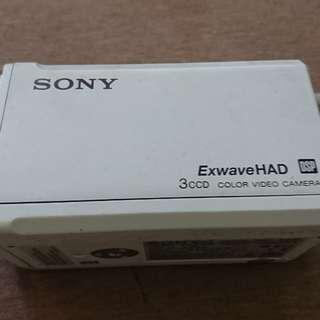 Sony 不明攝影器材