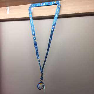Lanyard Doreamon Office Student Security Pass