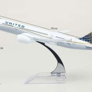 Miniature plane/airlines/aircraft