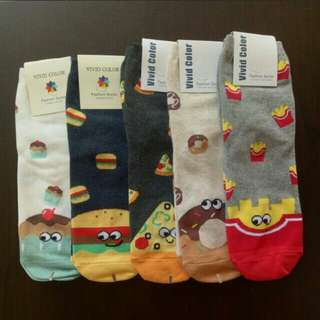 SALE! Fast Food Sock (1 for $3.00)