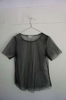showpo mesh shirt ***festival***