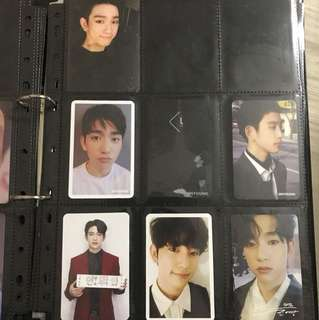 GOT7 JINYOUNG PHOTOCARD