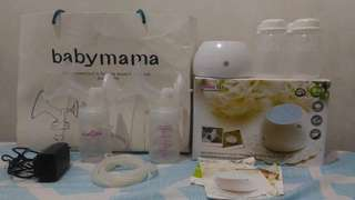 Preloved Spectra Double Electric Breast Pump