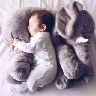 40cm Elephant plush pillow infant toy